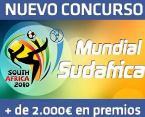 Concurso del Mundial Sudáfrica 2010 ofrecido por Todoapuestas